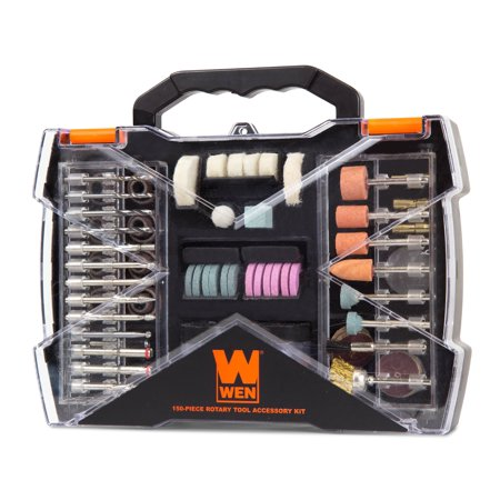 WEN 150-Piece Rotary Tool Accessory Kit with Carrying Case