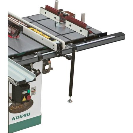 Grizzly Industrial T10222 20″ x 27″ Router Extension Table for Table Saw