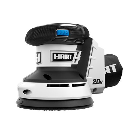 HART 20-Volt Cordless Random Orbit Sander and Dust Bag (Tool Only)