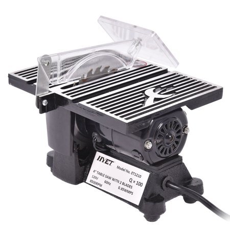 4″ Mini Electric Table Saw Tablesaw 8500 RPM Hobby And Craft Power Tools