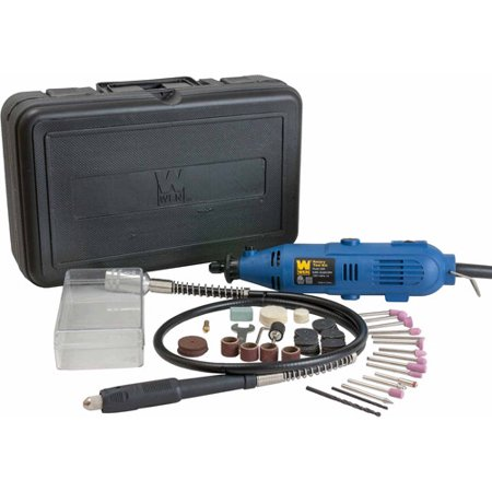 WEN Rotary Tool Kit with Flex Shaft, 2305