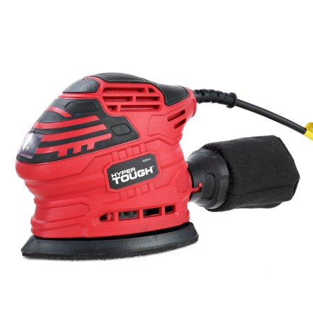 Hyper Tough 1.5-Amp Detail Sander with Sand Paper, AQ20037G