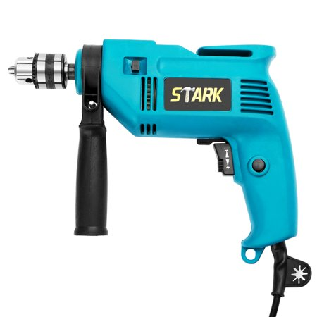 Stark 600W 3/8-Inch Electric Drill Variable Speed Trigger Rotating Handle Corded Drill Depth Gauge Drilling Wood Steel